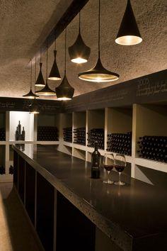 Mersus Winery Bar with Tom Dixon Lighting