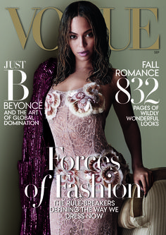 Bow Down, B*tches! Beyoncé Completely Owns the September Cover of Vogue