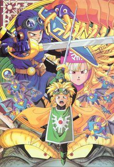 Warrior dragon quest comic hentai manga