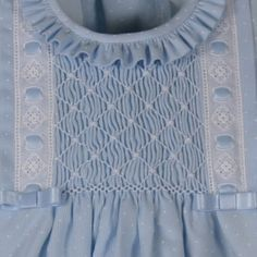 hand smocking instructions - Google Search