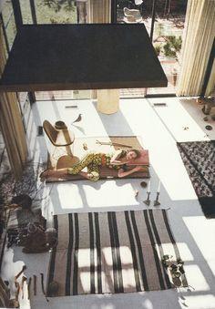 Vogue - 1954 Eames house