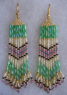 Native American Earrings by Pattidoodle, via Flickr