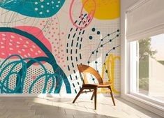 Wallpaper Removable Wallpaper Peel and Stick Wallpaper Wall   Etsy