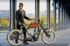 Electric Bicycle, Electric Cars, Bike Ideas, Hot Rods, Transportation, Frames, Wheels, Heaven, French