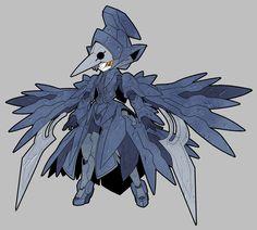 鴉(CRW-El01~El04)型メダロット「ネヴァン」