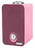 GermGuardian AC4150PCA Night-Night 4-in-1 Air Cleaning System HEPA Filter UV-C Sanitizer Allergen and Odor Reduction Projector Air Purifier Pink