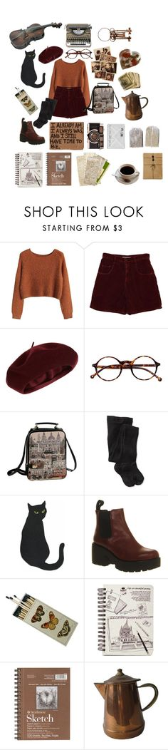 """""""Travelling north, travelling north to find you Train wheels beating, the wind in my eyes"""" by emily-of-the-wolves on Polyvore featuring Accessorize, Retrò, Smartwool and Vagabond"""
