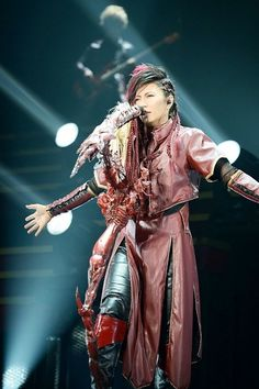 Japanese singer Gackt (40 years old as of July 2013).