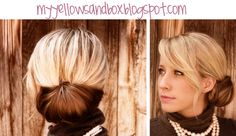 I love this look and this is so easy you won't need me to do it for you=(