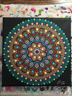 Mandala Art Therapy, Mandala Art Lesson, Mandala Drawing, Mandala Painting, Dot Art Painting, Stone Painting, Mandala Pattern, Mandala Design, Mandala Canvas