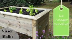 tutolibre - tutoriels - DIY gratuits - free DIY - tutorials - paso a paso - crafts- artesania - ремесел. Building A Raised Garden, Raised Garden Beds, Plan Potager, Keep Calm And Diy, Potager Palettes, Gothic Garden, Garden Deco, Garden Boxes, Garden Planning