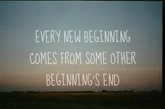 The end is only the beginning.