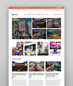 25+ Best WordPress Magazine Themes for Blog and News Websites in 2021 Mega Menu, News Sites, Web Design Company, Content Marketing, Wordpress Theme, Newspaper, Things To Come, Magazine, Website