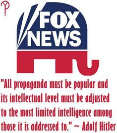 Fox News - Right Wing Propaganda King Right Wing, Left Wing, Social Issues, Greed, Social Justice, Thought Provoking, Philosophy, Facts, America