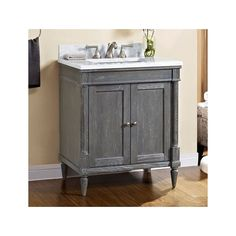 Fairmont Designs Rustic Chic 30 x x Bathroom Vanity Silvered Oak Fairmont Designs, Contemporary Vanity, Dream Bath, Rustic Chic, Rustic Vanity, Sink, Bathroom, Silver, Stuff To Buy