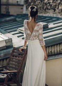 LAURE de SAGAZAN http://www.lauredesagazan.fr/collection/robes-de-mariee-2016