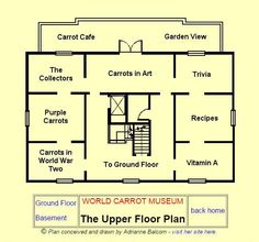 One of the virtual floors of The Carrot Museum