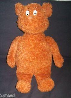 "Dr. Seuss ""Hop On Pop"" Plush Brown Stuffed Bear Play Toy 16"" Tall  $18.95"