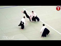 Beauty Of Aikido 合気道 in 120p Slow Motion With Sony A7s - YouTube