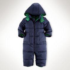 Down Snowsuit