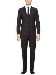 Plaid Suit by Calvin Klein Suiting at Gilt
