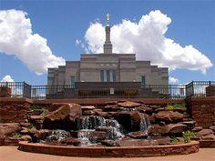 Snowflake Arizona  LDS   Mormon Temple.