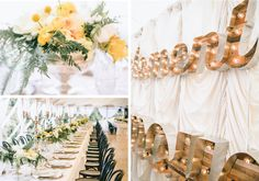 Enjoy Events Co. // Marquee lights