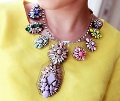Diva Charms bijuterii de designer, placate cu aur | Colier Colored Dream