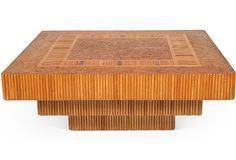 3-Tier Rattan Coffee Table on OneKingsLane.com