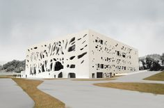 Bernard Tschumi apresenta o projeto final do Centro Cultural de Grottammare
