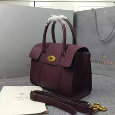 2016 A W Mulberry Small New Bayswater Oxblood Natural Grain Leather -   Mulberry  Outlet UK Team a0fc250998aa8