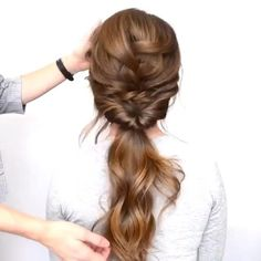 Scarf Hairstyles Short, Cool Braid Hairstyles, Teen Hairstyles, Curly Hair Updo, Braids For Long Hair, Hair Up Styles, Cool Braids, Beautiful Braids, How To Draw Hair