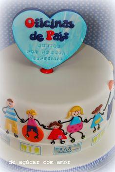 Do Açúcar Com Amor - Pais em Rede Cake