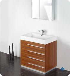 "View The Vigo Vg09002104K 2158"" Single Basin Bathroom Complete Enchanting Designer Bathroom Cabinet Design Decoration"