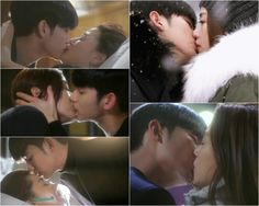 Man From The Stars drama kisses.