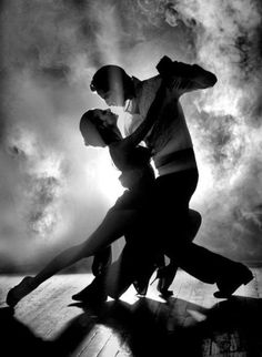 "Tango. Love this! I asked the husband to take ballroom dancing and got ""the look""."