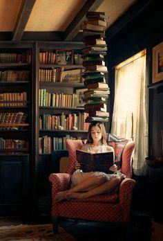 #Hogar es el lugar en el que están tus #libros. ;)
