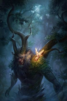 Forest keeper by Uruno-Morlith on DeviantArt