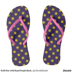 Gold Star with Royal Purple Background Flip Flop Sandals Available on many products! Hit the 'available on' tab near the product description to see them all! Thanks for looking!     @zazzle #art #star #pattern #shop #chic #modern #style #fun #neat #cool #buy #sale #shopping #men #women #sweet #awesome #look #accent #fashion #clothes #apparel #accessories #accessory #shoes #sandals #flip #flops #high #tops #low #slip-on #navy #blue #gold #black #purple #orange #grey #gray