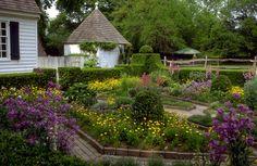John Blair Garden, Colonial Williamsburg Gardens