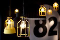 Wire Pendant Light. Raw, simple, stylish. Gotta love it!