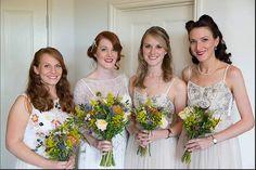 One of our beautiful bridal parties Hair & makeup Wedding Hair and Makeup Artists http://weddinghairandmakeupartists.com/