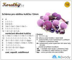 More at http://www.koralky.cz/navody/nahrdelnik-purple-dream-s-obsitymi-kulickami-toho-koralky-z-casopisu-recepty-prima-napadu.html