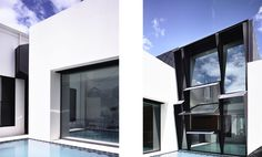 Fitzroy based architecture practice established 1999 by Patrick Kennedy & Rachel Nolan Kennedy Nolan, St Kilda, Saints, New Homes, Windows, Architecture, Modern, House, Spaces