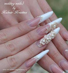Resultado de imagen para diseños de uñas para novias