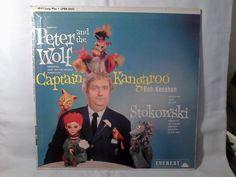 Captain Kangaroo Bob Keeshan Peter & Wolf Stokowski 1960 Children's…