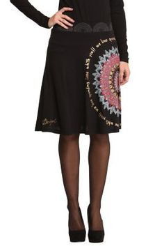 WOMAN KNITTED SKIRT KNEE