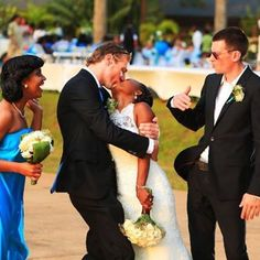 #weddings #kissingyou #blackwomenwhitemen