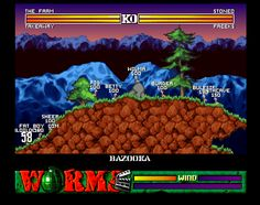 Worms (PC 1995)