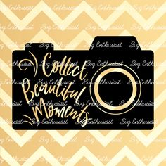 Collect beautiful moments SVG, Photography SVG cutting file, Cricut, Dxf, PNG, Vinyl, Eps, Cut Files, Clip Art, Vector, Quote, Sayings by SVGEnthusiast on Etsy